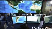 NASA EOS Control Room