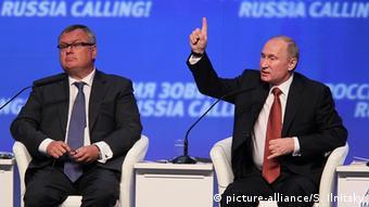 Kostin und Putin VTB