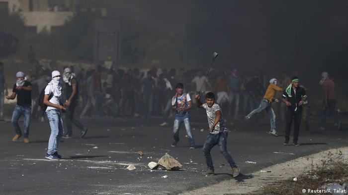 Westjordanland Grenze Israel Checkpoint Hawara Gewalt Palästinenser