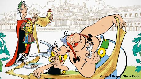 Asterix Volume 36 - The Papyrus of Caesar Cover (Les Éditions Albert René)