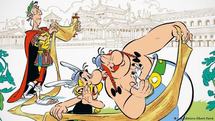 Asterix Volume 36 - The Papyrus of Caesar Cover