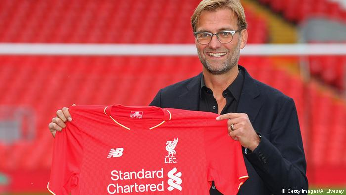 Jürgen Klopp (Getty Images/A. Livesey)