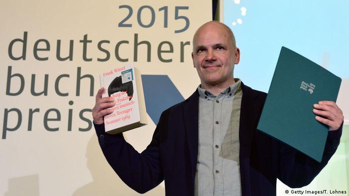 Писатель Франк Витцель получает Немецкую литературную премию