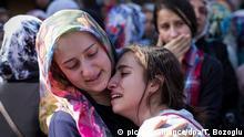 Türkei Ankara Terroranschlag Beerdigung Opfer Trauer