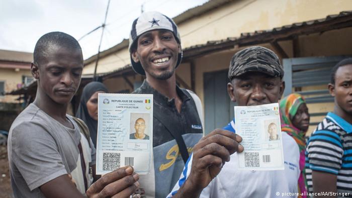 Guinea Conakry Wahlen Wähler