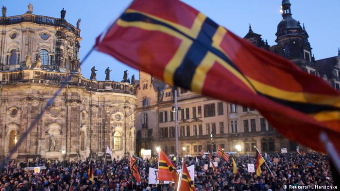 Dresden Pegida Demonstration