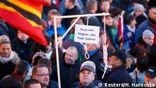 Deutschland Pegida Kundgebung in Dresden