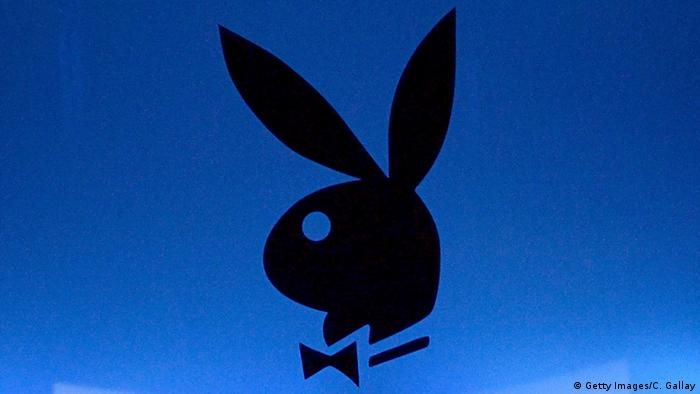 Playboy logo, Copyright: Getty images / C. Gallay