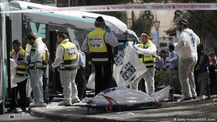 Israel Anschlag in Jerusalem