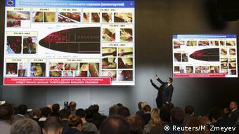 Презентация доклада о причинах крушения MH17 в Москве