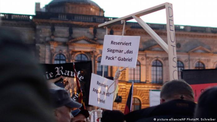 Gallows in Dresden