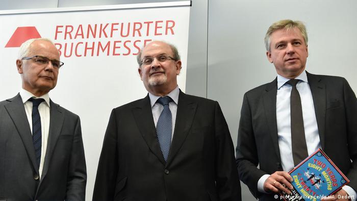 Frankfurt Book Fair Opening Press conference, Copyright: Arne Dedert/dpa