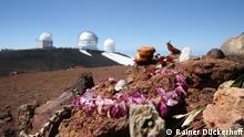 Hawaii Teleskop auf Mauna Kea