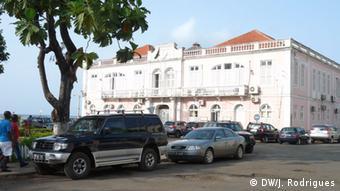 Afrika Gericht von Sao Tome