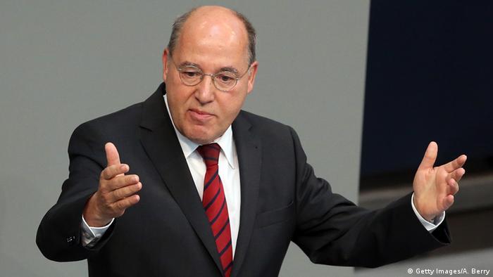 Deutschland Bundestag Gregor Gysi