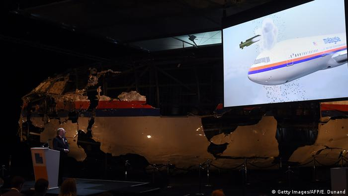 Malaysia Airlines flight MH17 (Getty Images/AFP/E. Dunand)
