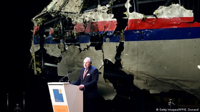 Niederlande Präsentation Abschlussbericht Abschuss MH17
