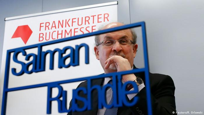 Salman Rushdie at the Frankfurt Book Fair, Copyright: Reuters/R. Orlowski