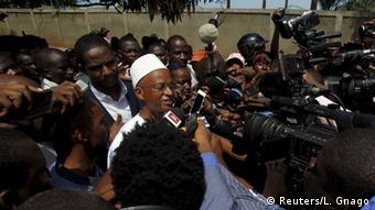 Cellou Dalein Diallo in Conakry