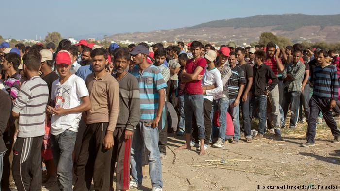 Europa Kos Flüchtlinge Migranten Versorgung