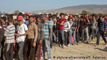 Migrants on Kos