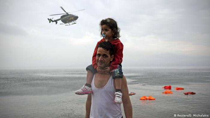 The majority of refugees arriving in Europe come from war-torn Syria