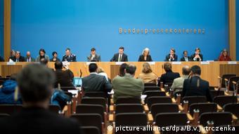 Bundespressekonferenz Bundesregierung Steffen Seibert