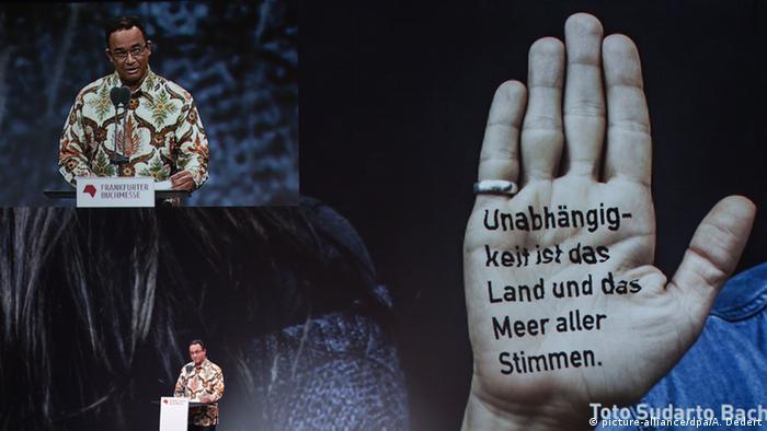 Frankfurter Buchmesse Eröffnungsfeier Kulturminister Indonesien
