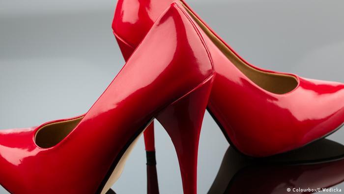 High Heels hohe Schuhe Rot Lackpumps Pumps