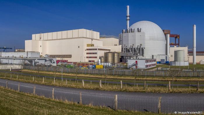 Deutschland Atomkraftwerk Brokdorf (Imago/Westend61)