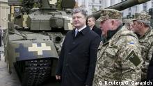 Ukraine Petro Poroschenko Militär