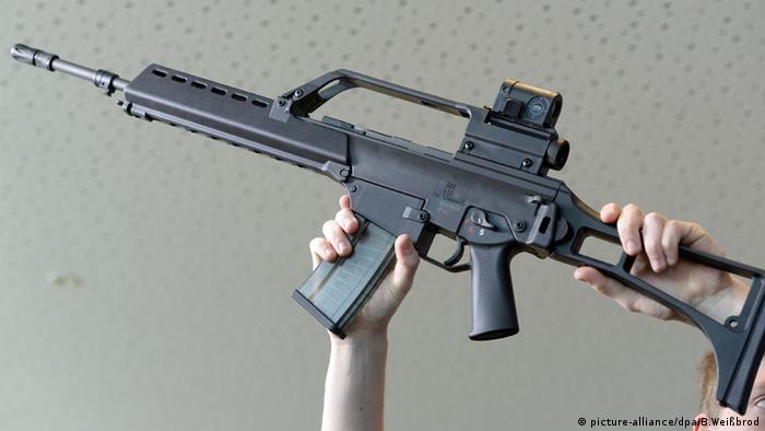 Sturmgewehr G36 (picture-alliance/dpa/B.Weißbrod)