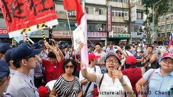 Taiwan Unterstützung für Hung Hsiu-chu