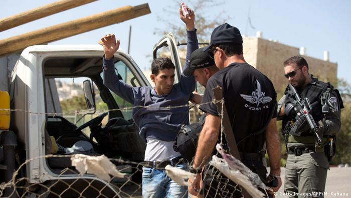 Israel Jerusalem Sicherheitskräfte Gewalt Ausschreitungen