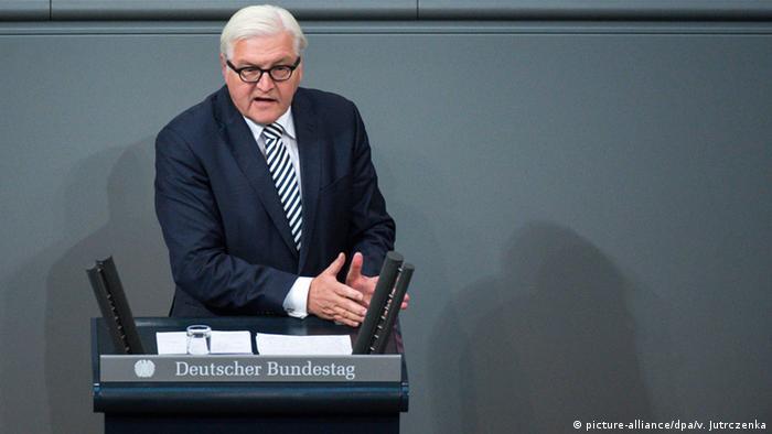 Berlin Bundestag Steinmeier Regierungserklärung 70 Jahre Vereinte Nationen