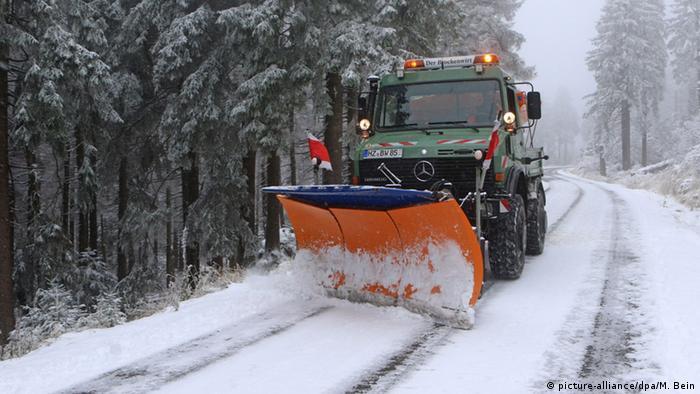 Deutschland Schnee
