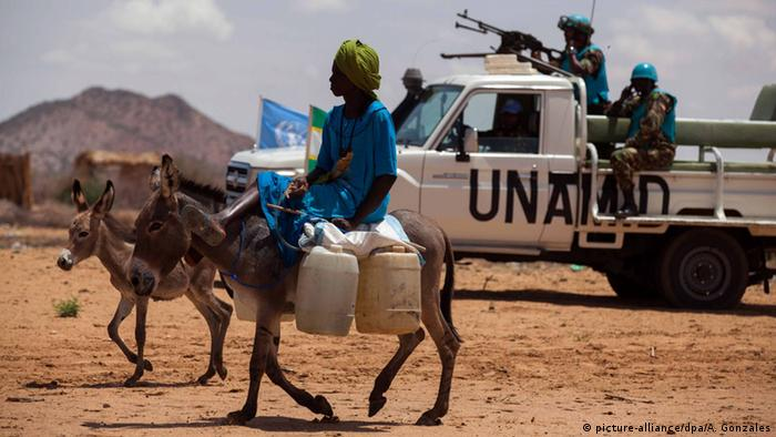 Sudan Darfur UN Mission UNAMID (picture-alliance/dpa/A. Gonzales)