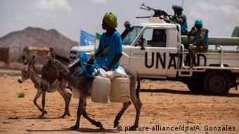 Sudan Darfur UN Mission UNAMID (picture-alliance/dpa/A. Gonzales)