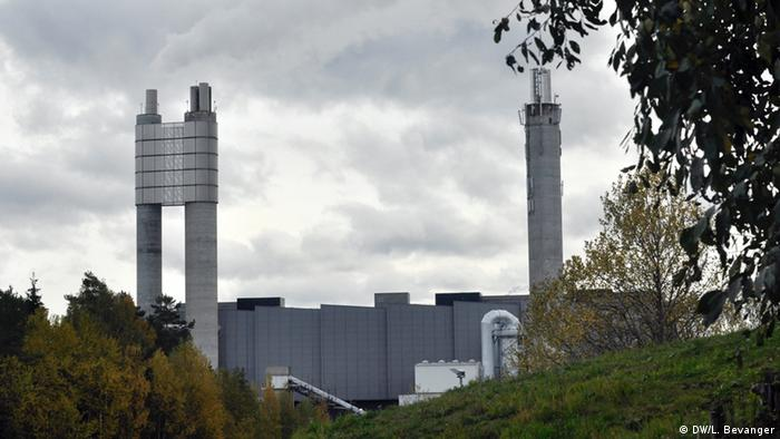 Waste incineration plant in Klemetrud, Norway
