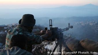 Syrien Gefecht