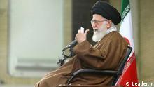 Titel: Ali Khamenei Iran Ayatollah Seyed Ali Khamenei, Oberhaupt der Islamischen Republik Iran Quelle: Leader.ir
