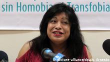 Argentinien LGBT-Sprecherin Diana Sacayan