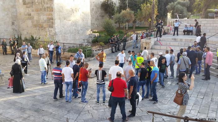 Napetosti između Palestinaca i izraelske vojske u starom gradu Jeruzalema