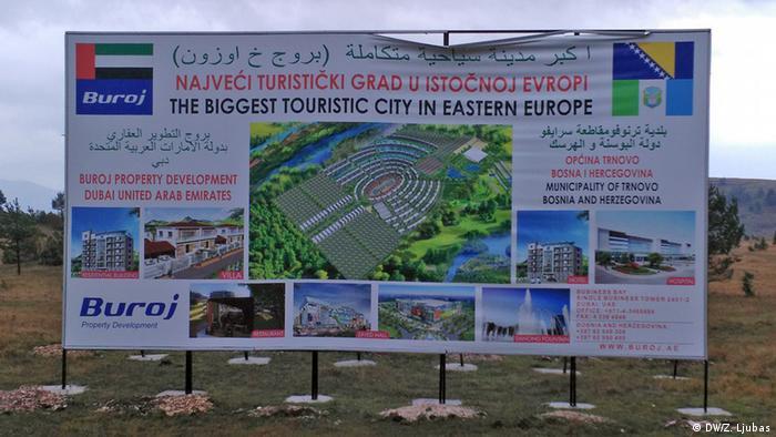 Bosnien-Herzegowina Tourismus Trnovo Werbung