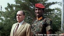 Thomas Sankara ARCHIV (Getty Images/AFP/D. Janin)