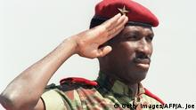 Thomas Sankara ARCHIV (Getty Images/AFP/A. Joe)