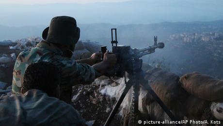 Offensive der syrischen Armee