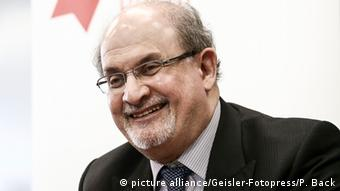 Salman Rushdie at the Frankfurt Book Fair, Copyright: picture alliance/Geisler-Fotopress/P. Back