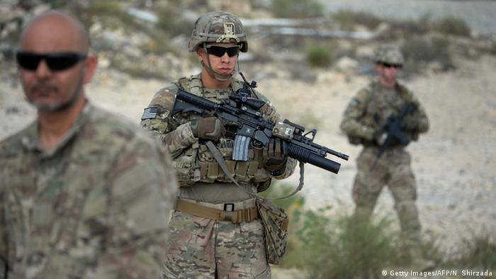 US Soldaten in Afghanistan (Getty Images/AFP/N. Shirzada)