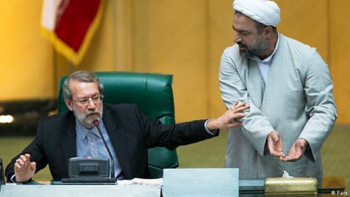 اعتراض حمید رسایی، نماینده مخالف طرح برجام به رئیس مجلس در روز رایگیری
